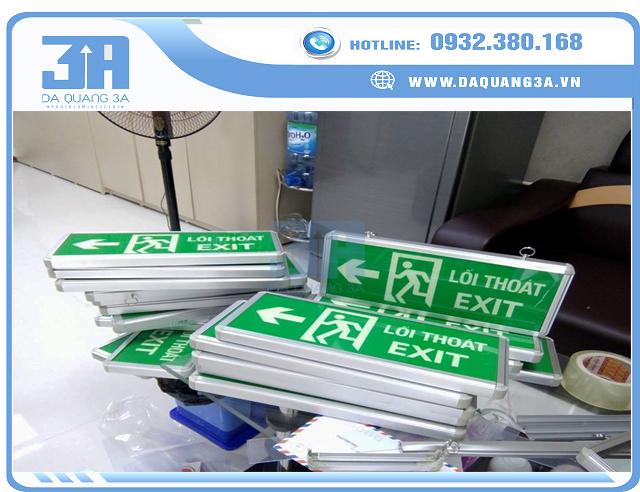 Đèn exit, biển exit dạ quang 3A Việt Nam