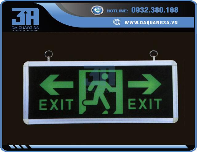 Đèn exit dạ quang chính hãng giá tốt