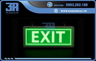Đèn exit thoát hiểm dạ quang 3A
